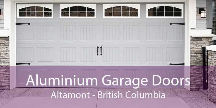 Aluminium Garage Doors Altamont - British Columbia