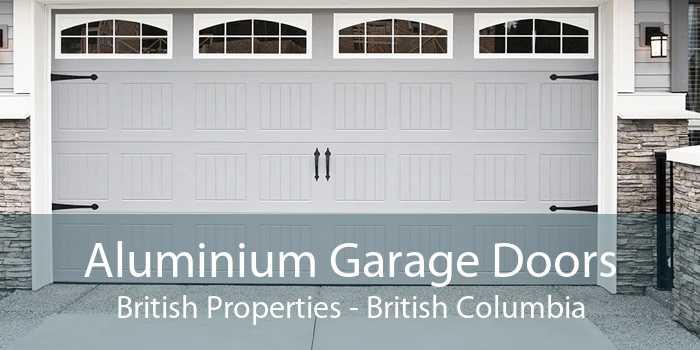 Aluminium Garage Doors British Properties - British Columbia