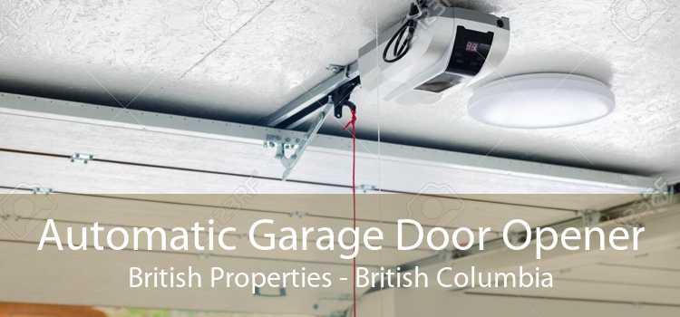 Automatic Garage Door Opener British Properties - British Columbia