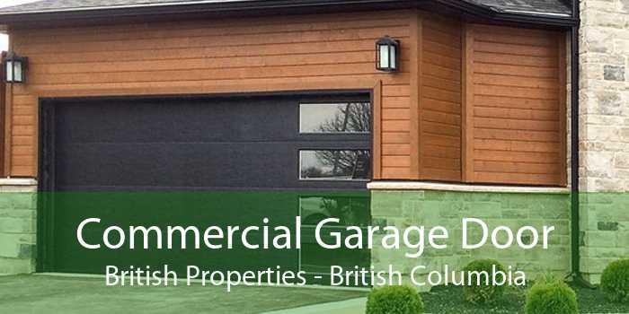 Commercial Garage Door British Properties - British Columbia