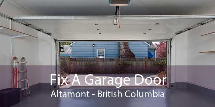 Fix A Garage Door Altamont - British Columbia