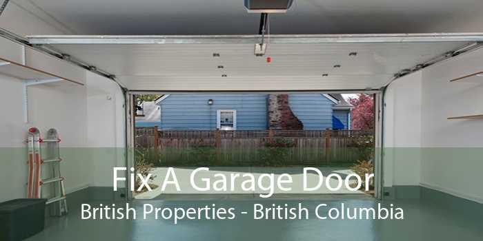 Fix A Garage Door British Properties - British Columbia
