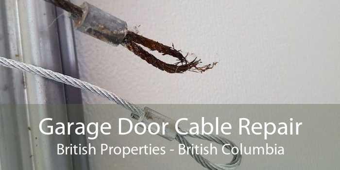 Garage Door Cable Repair British Properties - British Columbia