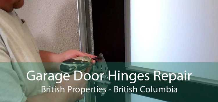 Garage Door Hinges Repair British Properties - British Columbia
