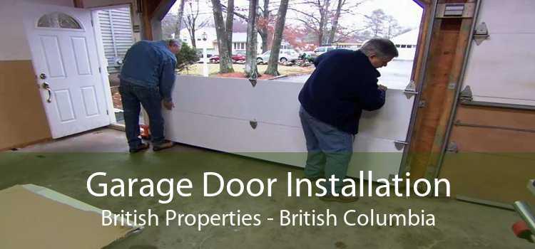 Garage Door Installation British Properties - British Columbia