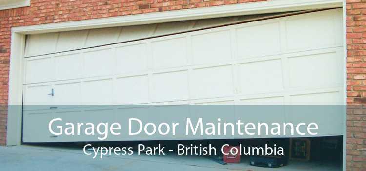 Garage Door Maintenance Cypress Park - British Columbia