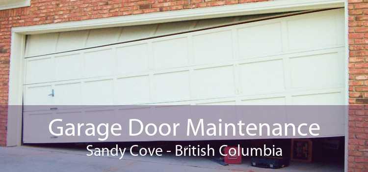 Garage Door Maintenance Sandy Cove - British Columbia