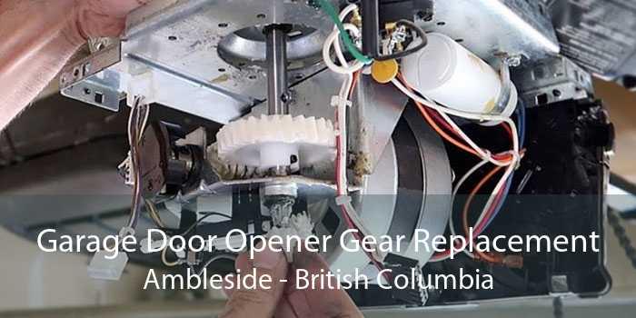 Garage Door Opener Gear Replacement Ambleside - British Columbia