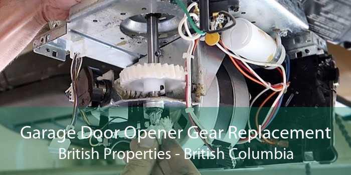 Garage Door Opener Gear Replacement British Properties - British Columbia