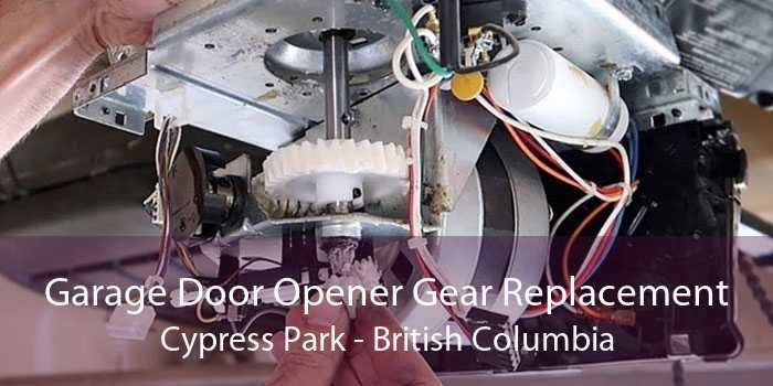 Garage Door Opener Gear Replacement Cypress Park - British Columbia