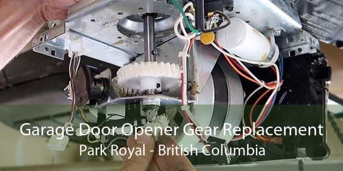 Garage Door Opener Gear Replacement Park Royal - British Columbia