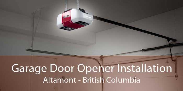 Garage Door Opener Installation Altamont - British Columbia