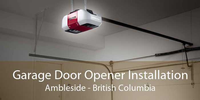 Garage Door Opener Installation Ambleside - British Columbia