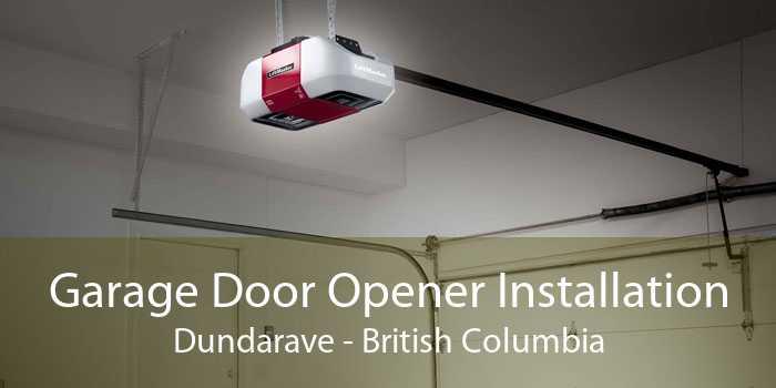 Garage Door Opener Installation Dundarave - British Columbia