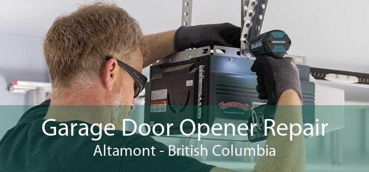 Garage Door Opener Repair Altamont - British Columbia