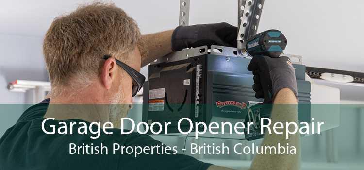 Garage Door Opener Repair British Properties - British Columbia