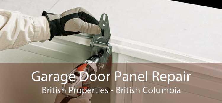 Garage Door Panel Repair British Properties - British Columbia