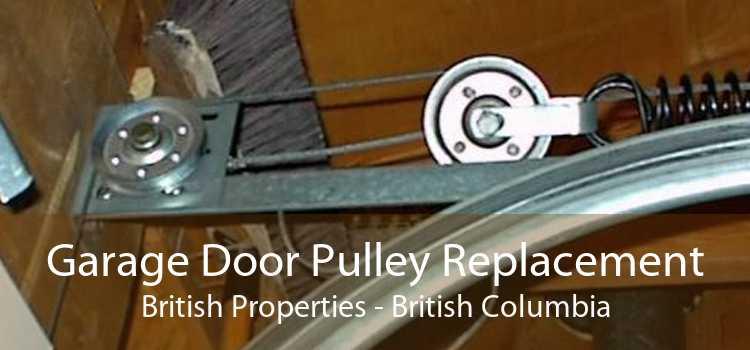 Garage Door Pulley Replacement British Properties - British Columbia