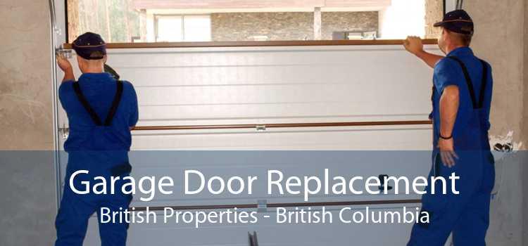 Garage Door Replacement British Properties - British Columbia