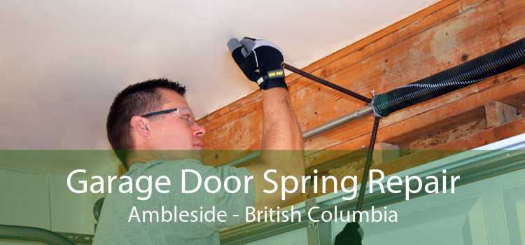 Garage Door Spring Repair Ambleside - British Columbia