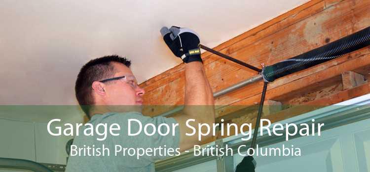 Garage Door Spring Repair British Properties - British Columbia