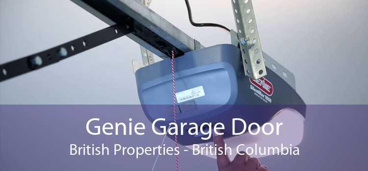 Genie Garage Door British Properties - British Columbia