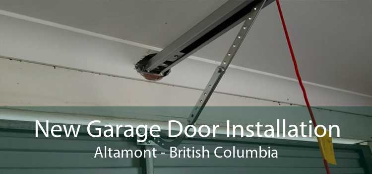 New Garage Door Installation Altamont - British Columbia