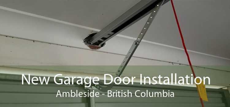 New Garage Door Installation Ambleside - British Columbia