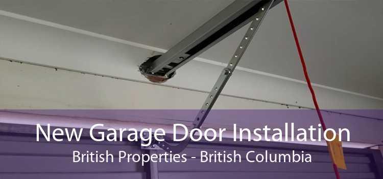 New Garage Door Installation British Properties - British Columbia