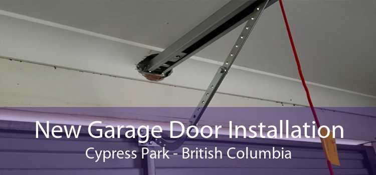 New Garage Door Installation Cypress Park - British Columbia