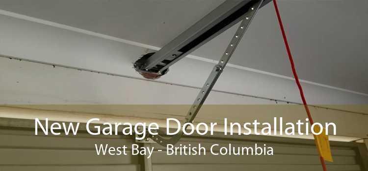 New Garage Door Installation West Bay - British Columbia