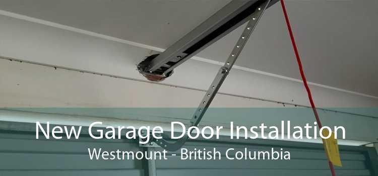 New Garage Door Installation Westmount - British Columbia