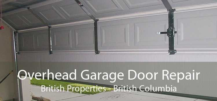 Overhead Garage Door Repair British Properties - British Columbia