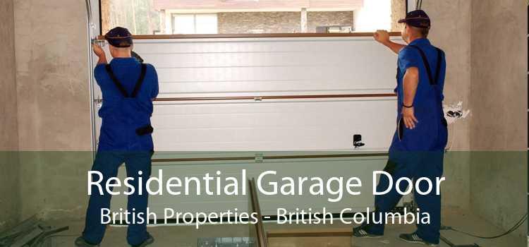 Residential Garage Door British Properties - British Columbia