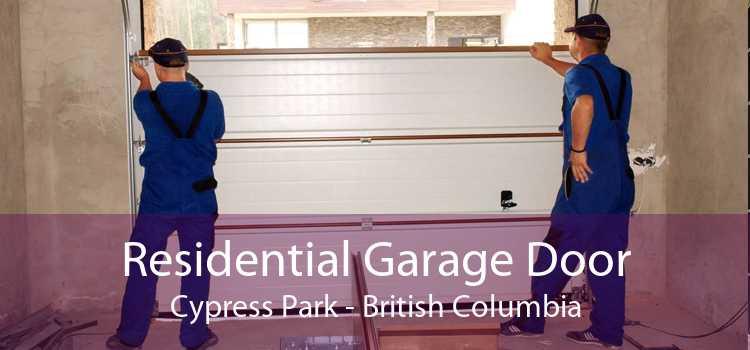 Residential Garage Door Cypress Park - British Columbia