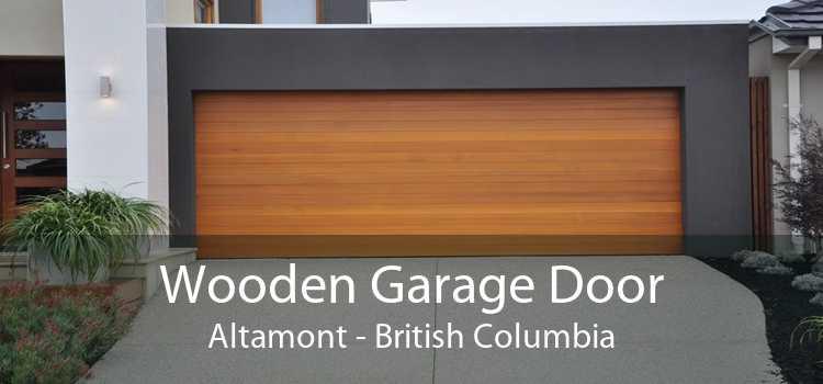 Wooden Garage Door Altamont - British Columbia