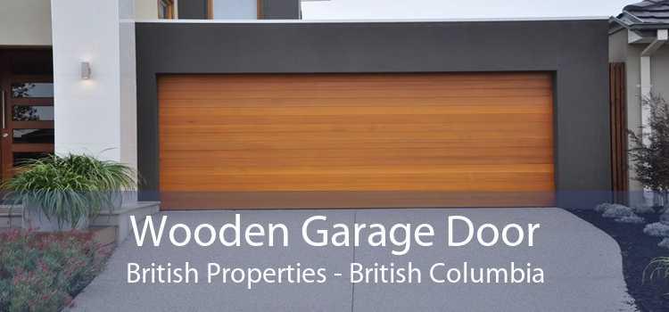Wooden Garage Door British Properties - British Columbia