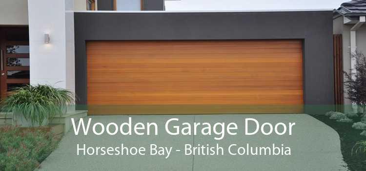 Wooden Garage Door Horseshoe Bay - British Columbia