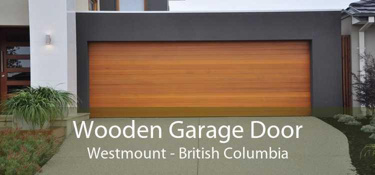 Wooden Garage Door Westmount - British Columbia